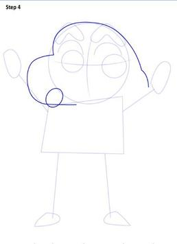 Learn to Draw Shin Chan screenshot 4