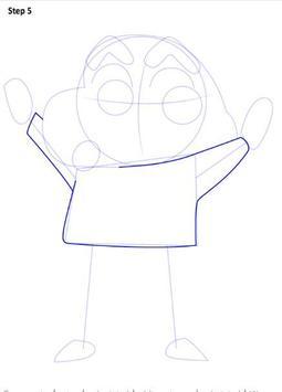 Learn to Draw Shin Chan screenshot 5