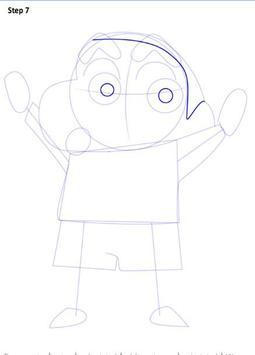 Learn to Draw Shin Chan screenshot 7