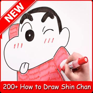 Learn to Draw Shin Chan screenshot 8