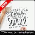 how to draw hand lettering