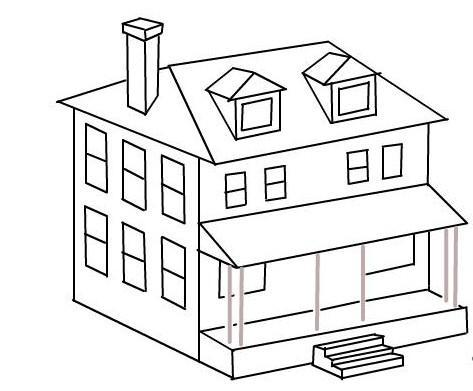 How To Draw House Step By Step For Android Apk Download