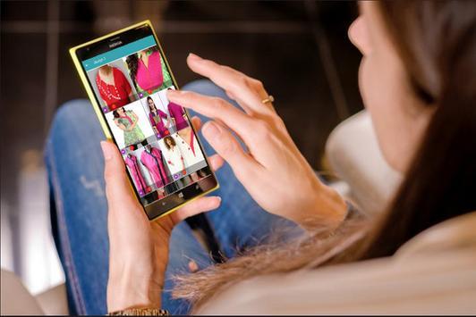 Latest Neck Kurti Collar Designs screenshot 5