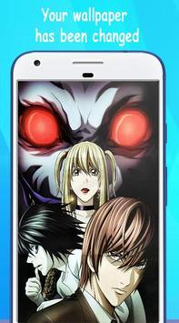 Wallpaper Death Note HD screenshot 3