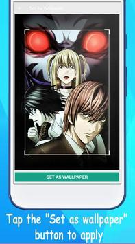 Wallpaper Death Note HD screenshot 2