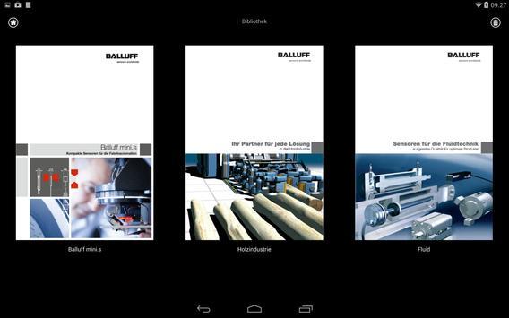 Balluff Product Catalog apk screenshot