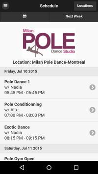Milan Pole Dance Montréal poster