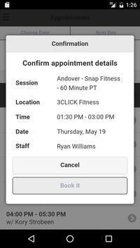 3CLICK Fitness apk screenshot