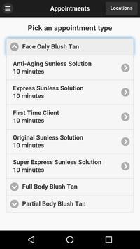 Blush Airbrush Tanning LLC poster