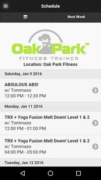 Oak Park Trainer poster