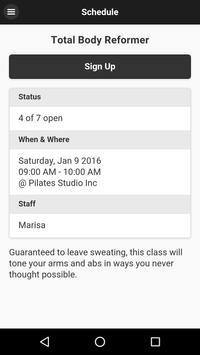 The Pilates Studio Inc apk screenshot