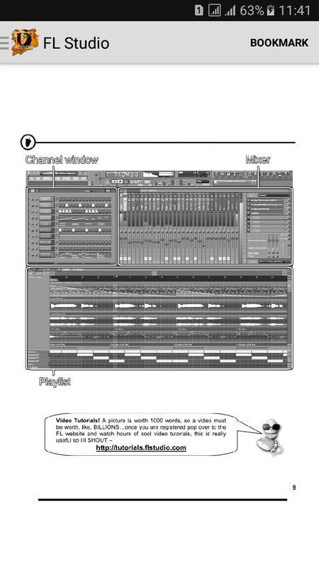 fl studio tutorial apk download