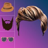 Man HairStyle and Photo Editor 2018 icon