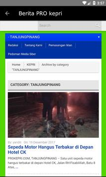 PRO Kepri apk screenshot