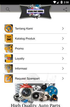 Spare Part Mobil poster