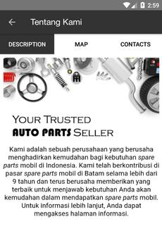 Spare Part Mobil apk screenshot