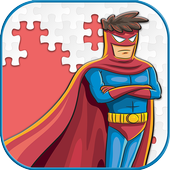 Super Hero Jigsaw Puzzle Game For kids icon