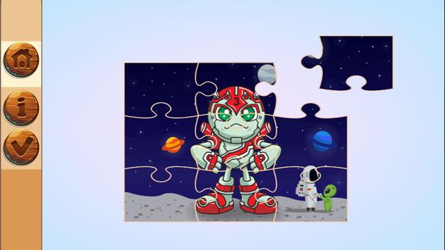 Super Hero Jigsaw Puzzle Game For kids screenshot 2