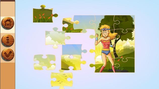 Super Hero Jigsaw Puzzle Game For kids screenshot 3
