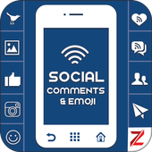 Social comments icon