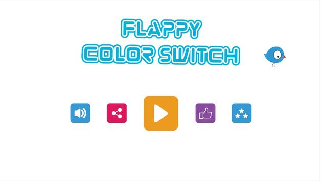 Flappy Color Switch poster