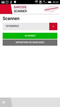 Mastermate Scan App apk screenshot