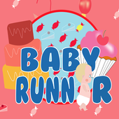 Baby Runner: in the candy world icon