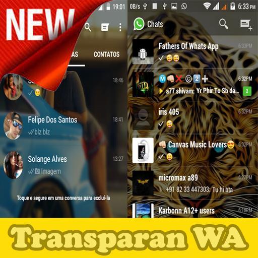 whatsapp transparente 2019 apk descargar