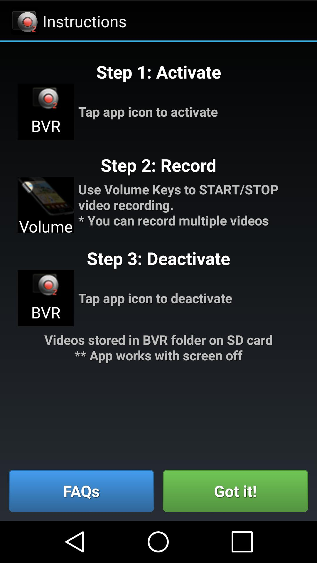 Background Video Recorder 2 for Android - APK Download