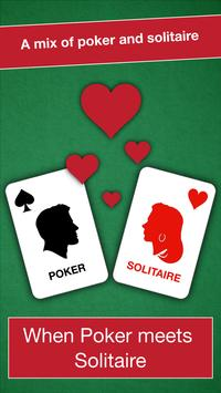 Poker Solitaire: the card game poster