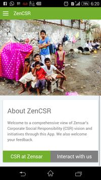 ZenCSR poster