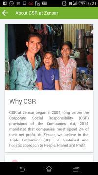 ZenCSR apk screenshot