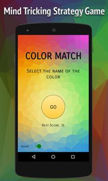 Color Match: Strategy Game poster