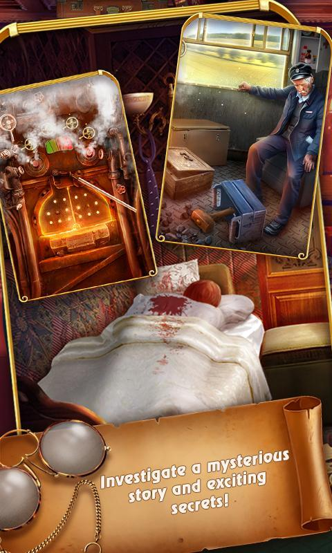 Train Escape Mystery: Hidden Object Detective Game for Android - APK