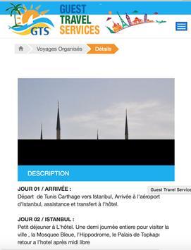 Guest travel services screenshot 1