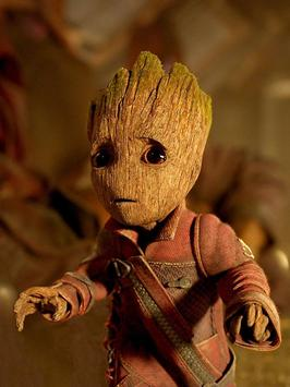 Baby Groot Lovely wallpapers screenshot 2
