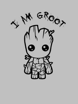 Baby Groot Lovely wallpapers screenshot 3