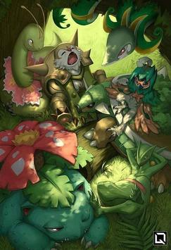 Grass Type Pokemon Wallpapers Apk App Free Download For