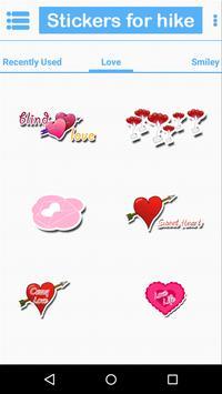 Stickers for hike screenshot 2
