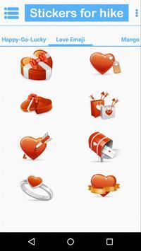 Stickers for hike screenshot 6