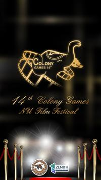 14th Colony Games poster