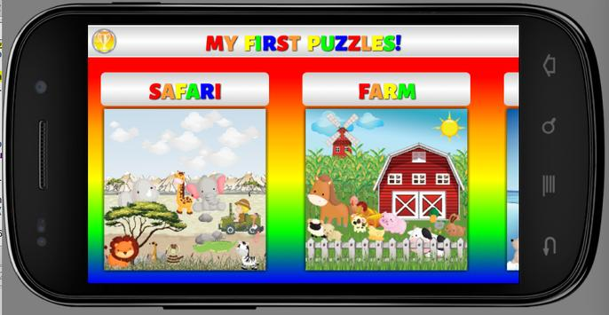 My First Puzzles: Animals poster