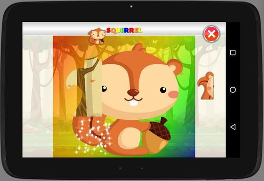 My First Puzzles: Animals apk screenshot