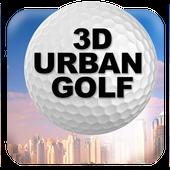 3D Urban Golf - Lite icon