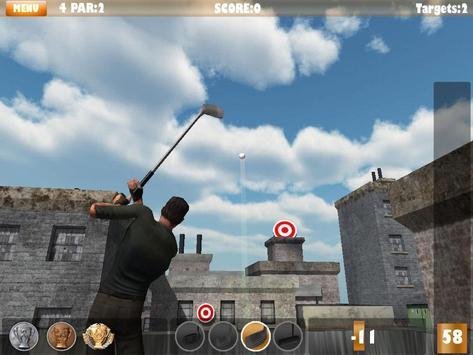 3D Urban Golf - Lite poster