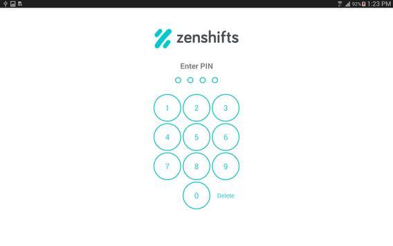 Zenshifts TimeClock apk screenshot