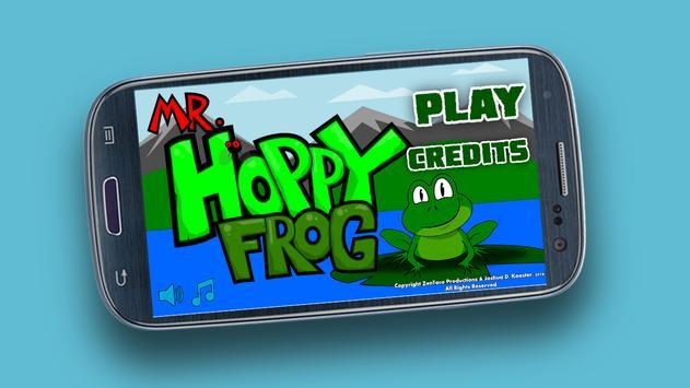Mr. Hoppy Frog - Lite poster