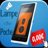 Lampe poche minuscule free icon
