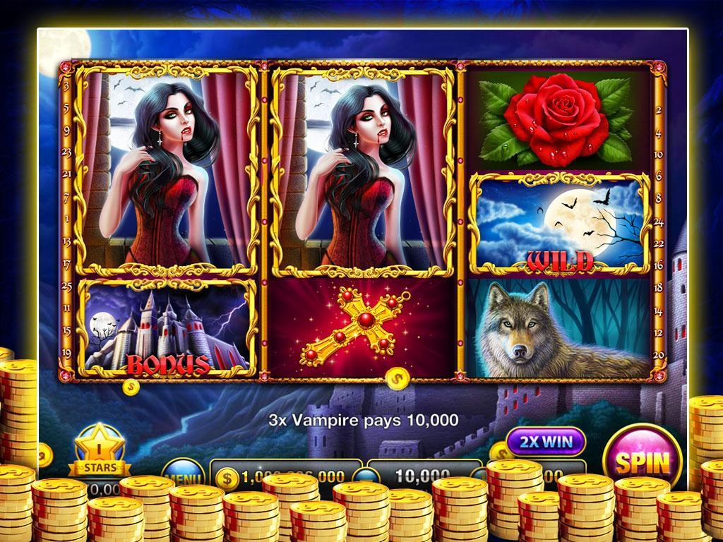 Slots Transylvania:FREE Casino poster