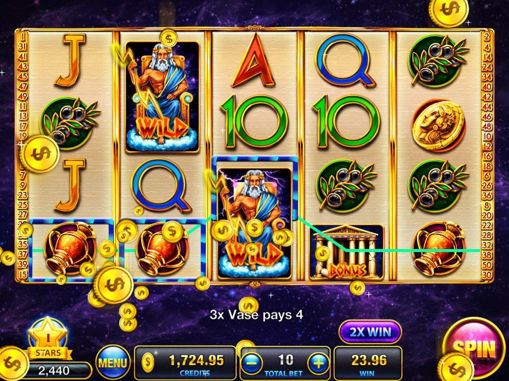 Slots Deity's Way:slot machine poster